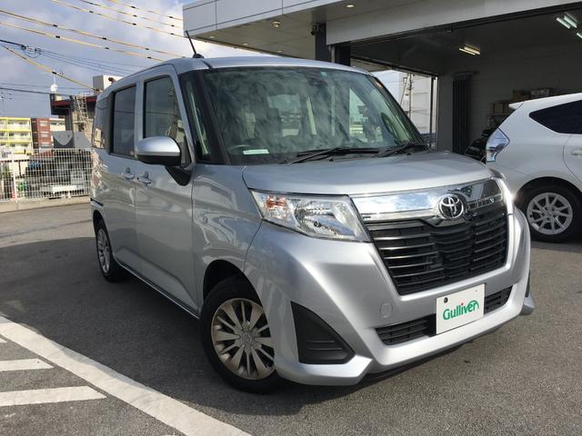 沖縄県の中古車ならルーミー X S SAII  社外SDナビ パワースライドドア
