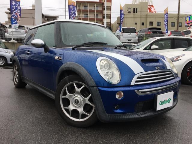 沖縄県の中古車ならMINI クーパーS 6速MT 社外ナビTV