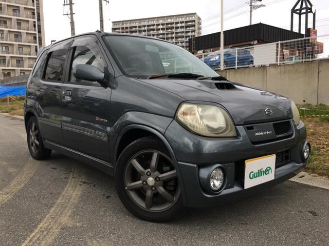 沖縄の中古車 スズキ Keiワークス 車両価格 39万円 リ済別 2004(平成16)年 9.5万km グレー