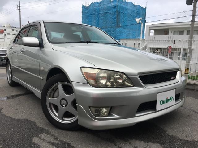 沖縄県の中古車ならアルテッツァ RS200 Zエディション 6速MT 社外オーディオ