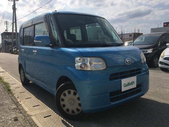 沖縄県の中古車ならタント X 純正オーディオ パワースライド 革調シートカバー