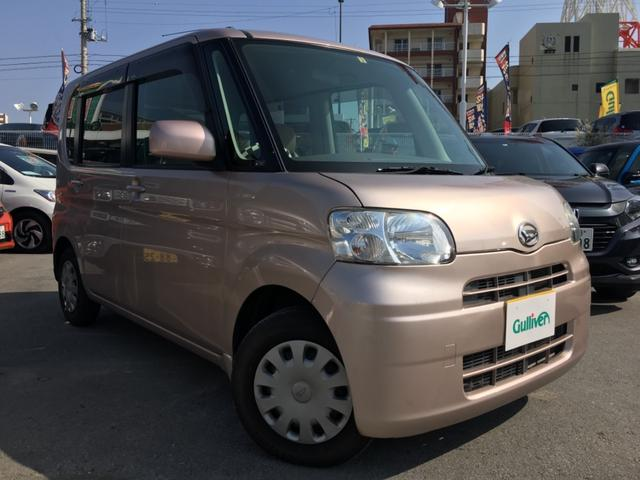 沖縄の中古車 ダイハツ タント 車両価格 49万円 リ済別 2008(平成20)年 8.0万km ピンク