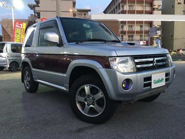 沖縄県宜野湾市の中古車ならパジェロミニ VR 5速MT 社外ナビ 社外オーディオ キーレス