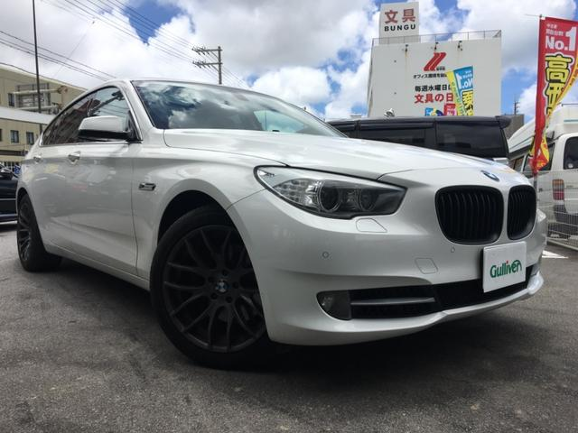 BMW BMW 535iグランツーリスモ ナビTV バックカメラ 黒革シート