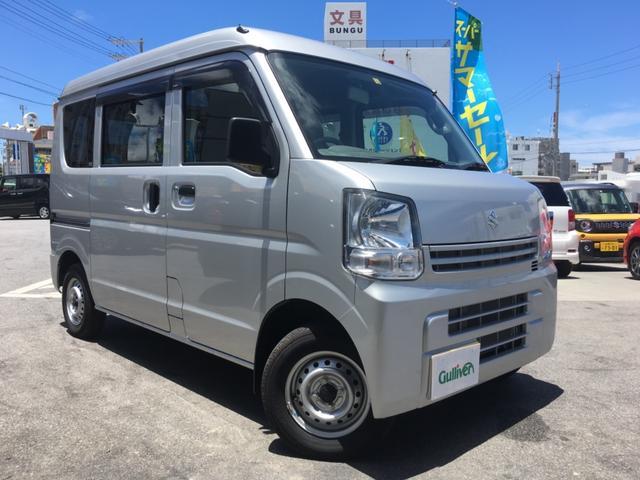沖縄県の中古車ならエブリイ PAリミテッド キーレス ライトレベライザー