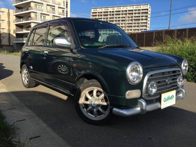 沖縄県の中古車ならミラジーノ ミニライトスペシャル 社外ナビTV 合皮シート 純正アルミ