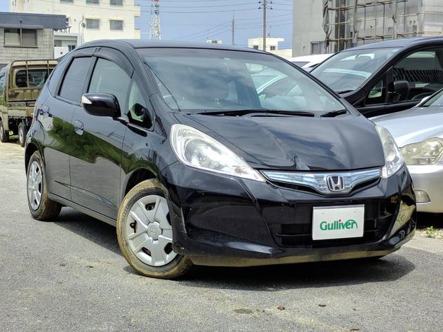 沖縄県の中古車ならフィットハイブリッド スマートセレクション クルコン CD 電動格納ミラー