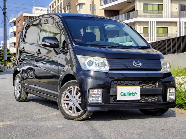 沖縄県の中古車ならムーヴ カスタム X 純正アルミ HIDライト スマートキー