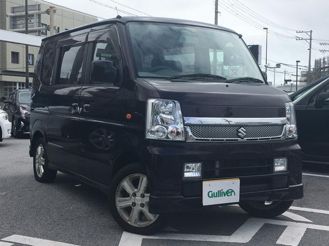 沖縄県の中古車ならエブリイワゴン PZターボスペシャル 両側パワスラ フォグランプ キーレス