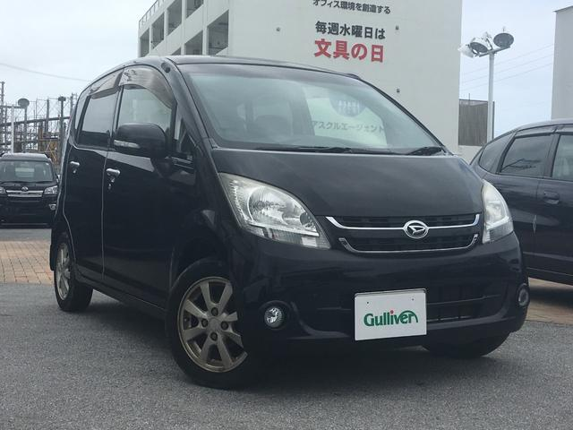 沖縄の中古車 ダイハツ ムーヴ 車両価格 34万円 リ済別 2006(平成18)年 14.6万km ブラック