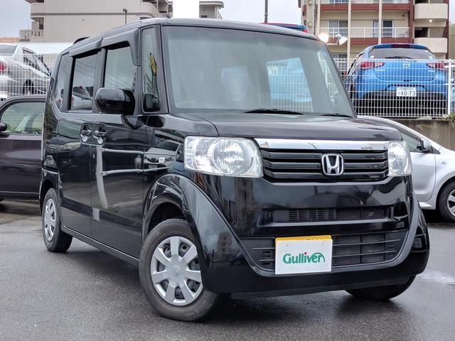 沖縄県の中古車ならN-BOX G・Lパッケージ 純正オーディオ パワスラ ETC