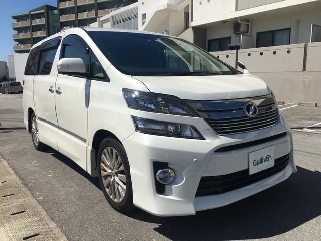 トヨタ 3.5Z Gエディション 純ナビ 後席モニター 両側電動ドア