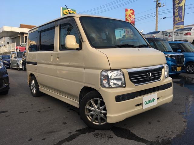 沖縄県の中古車ならバモス G 社外ナビTV ETC