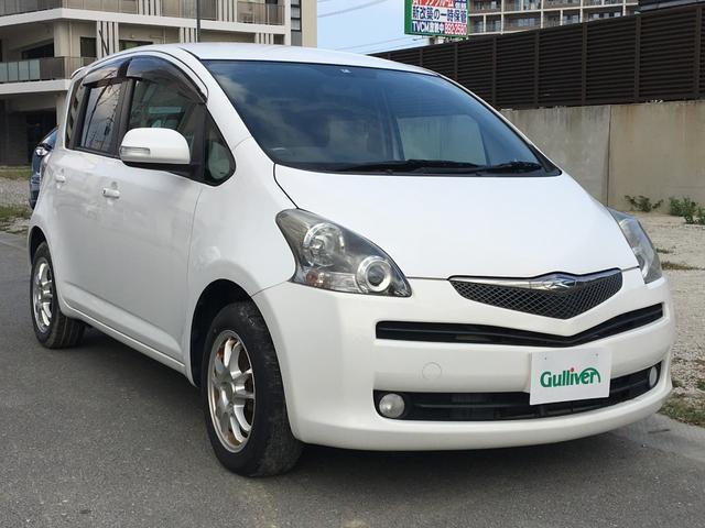 沖縄の中古車 トヨタ ラクティス 車両価格 39万円 リ済別 2008(平成20)年 11.3万km ホワイト