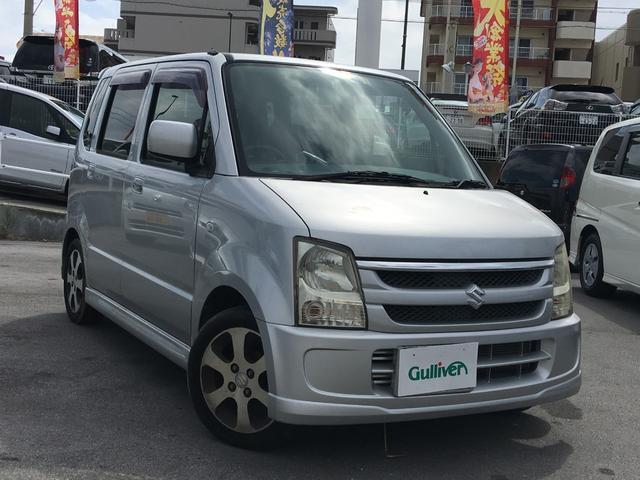 沖縄の中古車 スズキ ワゴンR 車両価格 39万円 リ済別 2007(平成19)年 7.0万km シルバー