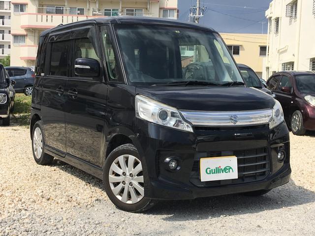 沖縄県の中古車ならスペーシアカスタム XS 社外オーディオ パワスラ スマートキー