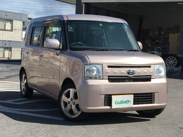 沖縄県の中古車ならムーヴコンテ X リミテッド 社外ナビ フルセグTV スマートキー アルミ