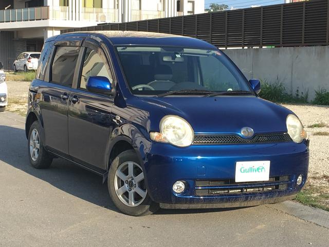 沖縄の中古車 トヨタ シエンタ 車両価格 39万円 リ済別 2006(平成18)年 9.7万km ブルー