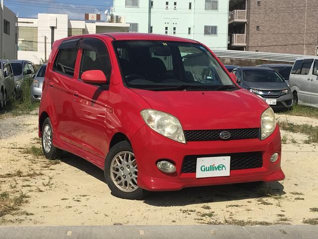 沖縄の中古車 ダイハツ MAX 車両価格 29万円 リ済別 2002(平成14)年 10.2万km レッド