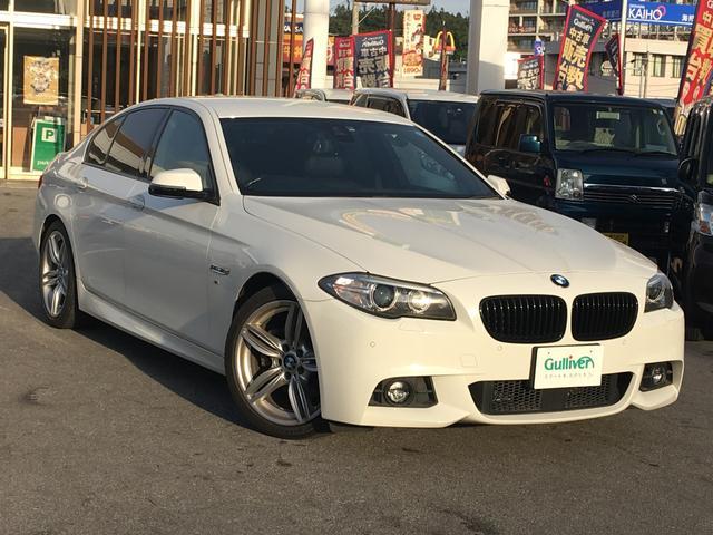 BMW BMW 523i Mスポーツ 黒革シート 純正ナビTV パワーシート