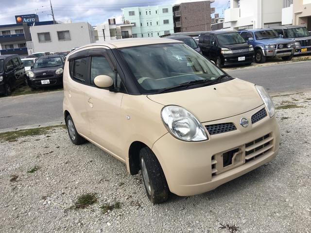 沖縄の中古車 日産 モコ 車両価格 39万円 リ済別 2008(平成20)年 7.7万km アイボリー
