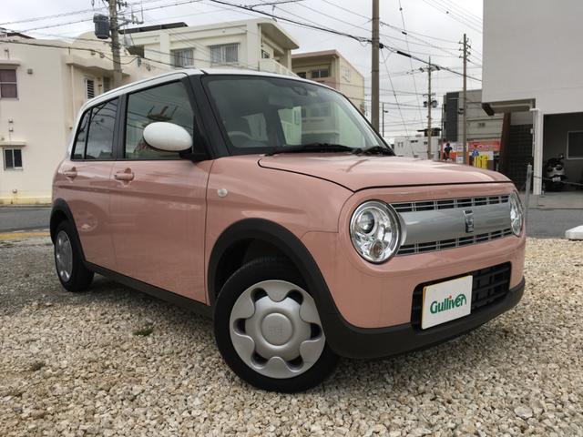 沖縄県宜野湾市の中古車ならアルトラパン S 2トーン ナビTV バックカメラ スマートキー ETC