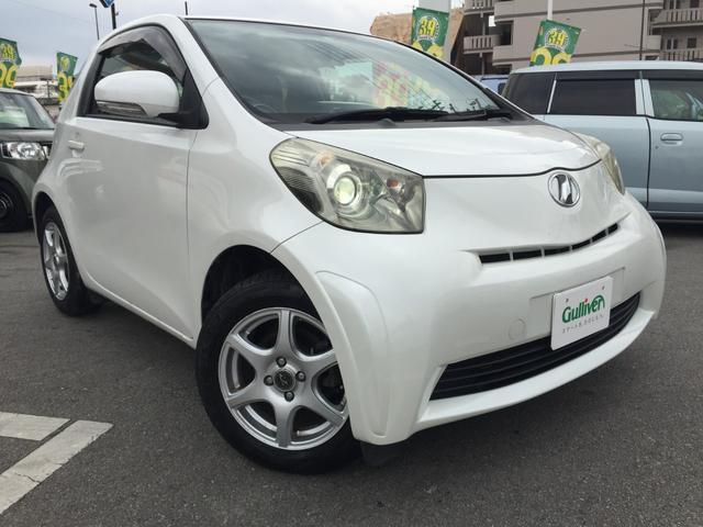 トヨタ iQ 100G レザーパッケージ ナビ スマートキー ドラレコ
