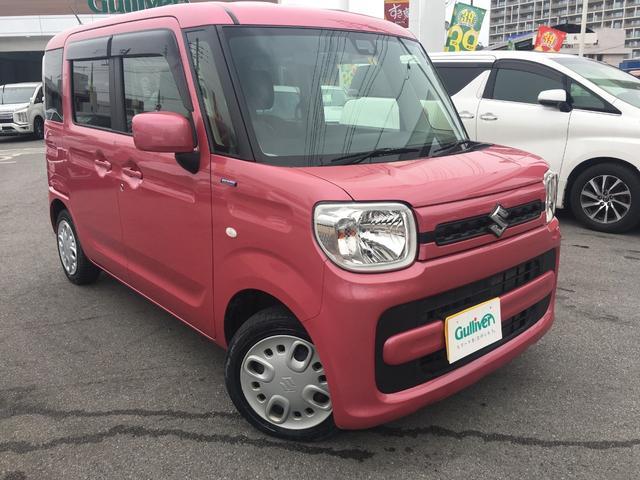 沖縄県宜野湾市の中古車ならスペーシア ハイブリッドG  セーフティーサポート 社外オーディオ