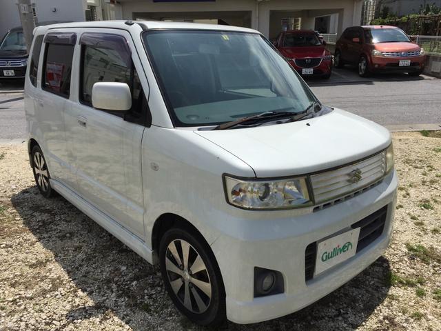 沖縄の中古車 スズキ ワゴンR 車両価格 33万円 リ済別 2008(平成20)年 11.6万km パール