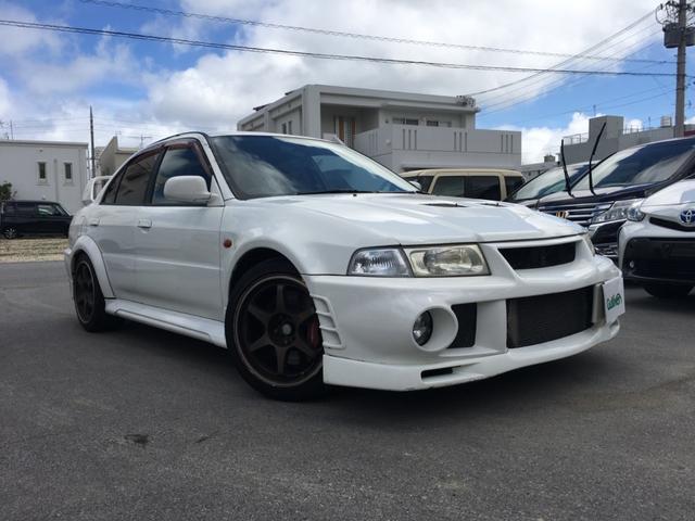 沖縄県の中古車ならランサー GSRエボリューションVI ブレンボキャリパー 社外マフラー