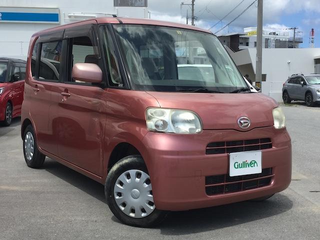 沖縄県の中古車ならタント L ドアバイザー・ETC・ナビ・Bluetooth接続