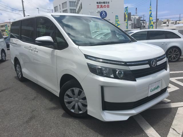 沖縄県の中古車ならヴォクシー X  純正ナビTV プリクラッシュセーフティー LEDライト