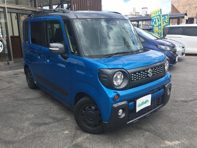 沖縄県の中古車ならスペーシアギア ハイブリッドXZ  社外ナビTV バックカメラ 両側パワスラ