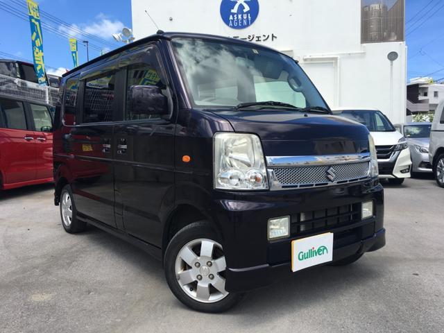 「スズキ」「エブリイワゴン」「コンパクトカー」「沖縄県」の中古車