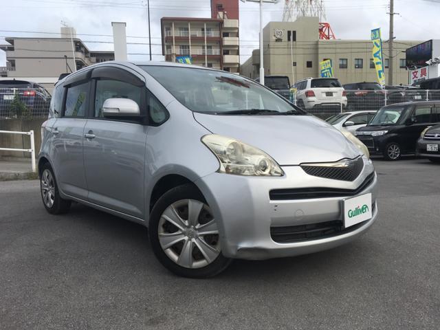 沖縄の中古車 トヨタ ラクティス 車両価格 39万円 リ済別 2008(平成20)年 9.2万km シルバー