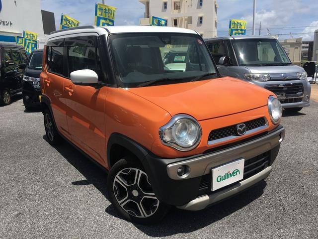 沖縄県の中古車ならフレアクロスオーバー XS  シートヒーター 純正アルミ