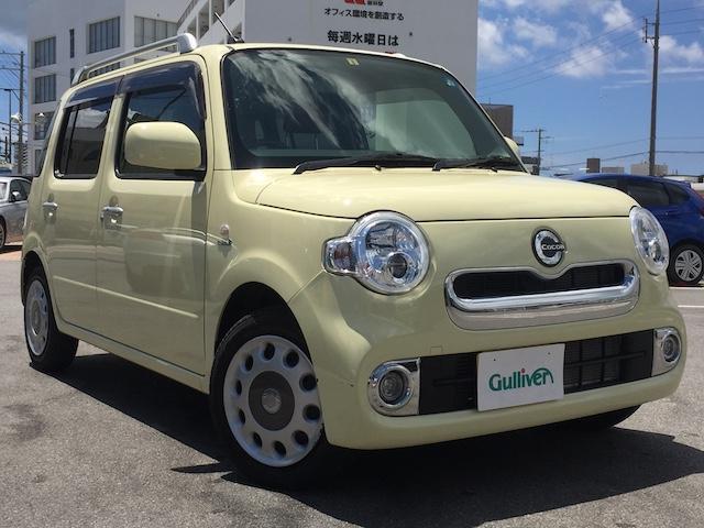 沖縄県宜野湾市の中古車ならミラココア ココアプラスX 純正オーディオ・アイドリングストップ・ドアバイザー・電格ミラー