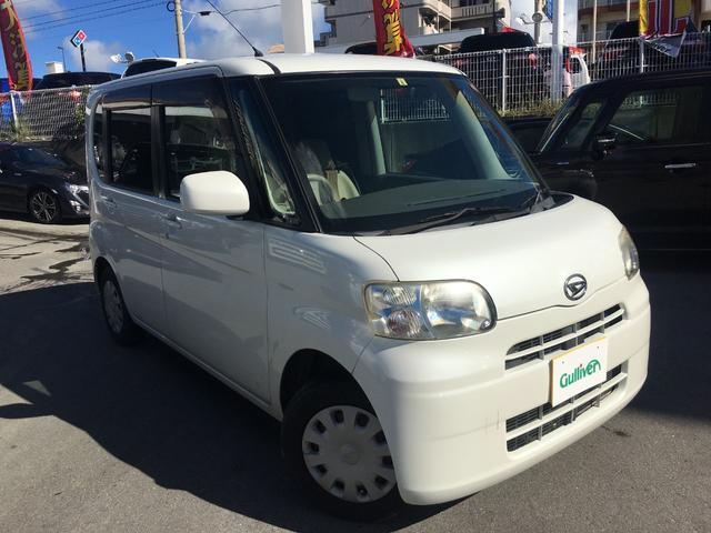沖縄の中古車 ダイハツ タント 車両価格 39万円 リ済別 2008(平成20)年 10.1万km パール