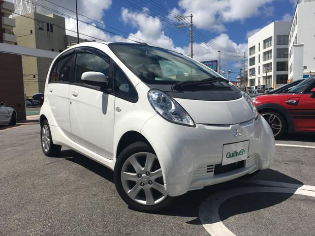 沖縄県の中古車ならアイミーブ ベースグレード 社外HDDナビTV DVD再生 バックカメラ スマートキー 電動格納ミラー