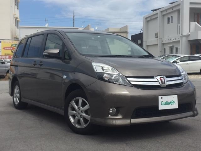沖縄県の中古車ならアイシス プラタナ 純正ナビ・TV・バックカメラ・Bluetooth・片側パワースライドドア・プッシュスタート・スマートキー・ETC・純正アルミ