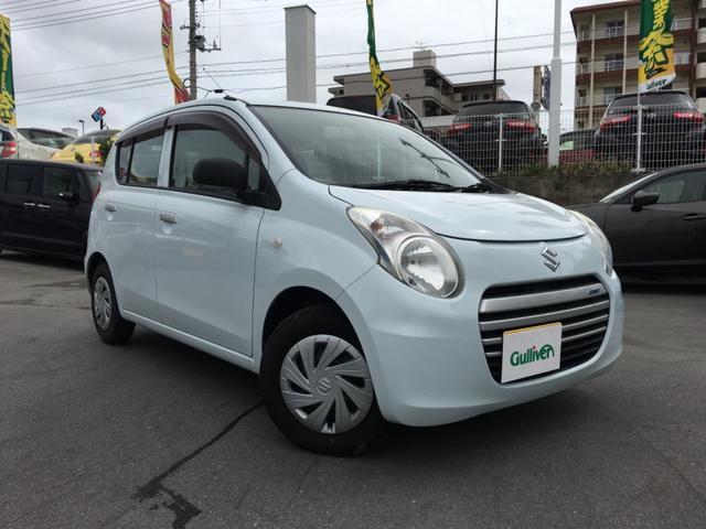 沖縄県の中古車ならアルトエコ ECO-L 純正オーディオ アイドリングストップ キーレス ライトレベライザー