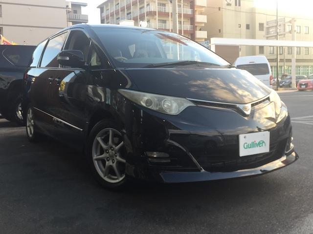 トヨタ 2.4アエラス Gエディション ナビ・TV・バックカメラ・純正アルミ・両側パワスラ