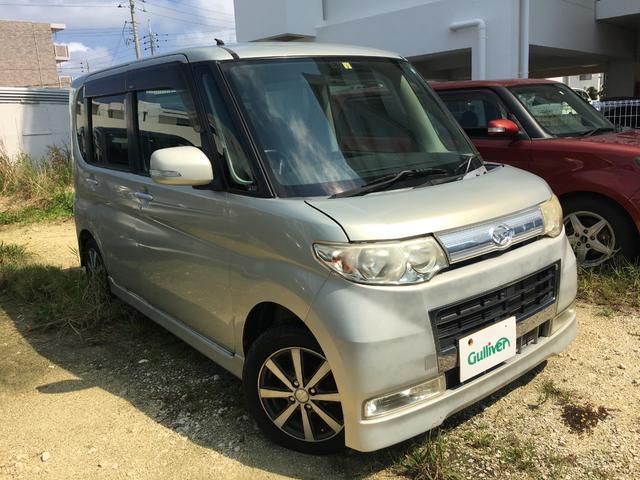 沖縄の中古車 ダイハツ タント 車両価格 49万円 リ済別 2009(平成21)年 8.5万km ゴールド