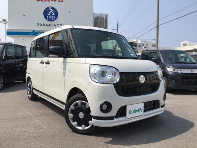 沖縄県の中古車ならムーヴキャンバス Gブラックアクセントリミテッド SAIII