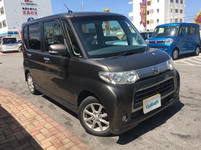 沖縄県の中古車ならタント カスタムX パワースライドドア 社外オーディオ