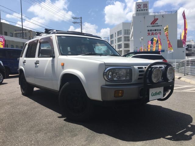 沖縄県の中古車ならラシーン タイプIII 社外オーディオ キーレス サンルーフ