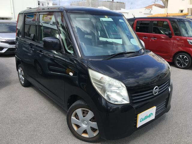 沖縄の中古車 日産 ルークス 車両価格 49万円 リ済別 2011(平成23)年 8.5万km ブラック
