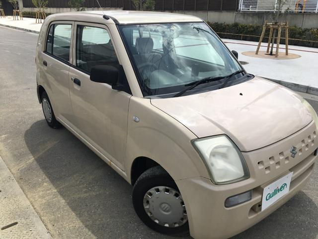 沖縄の中古車 スズキ アルト 車両価格 29万円 リ済別 2007(平成19)年 7.7万km クリーム