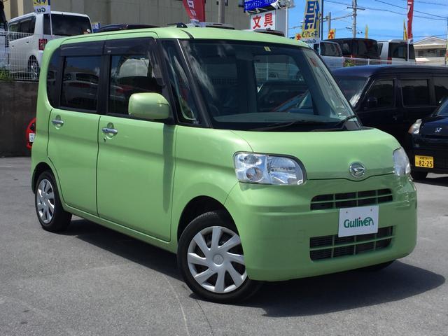 沖縄県の中古車ならタント X パワースライドドア ブレーキアシスト 盗難防止システム オートエアコン