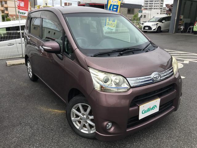 沖縄の中古車 ダイハツ ムーヴ 車両価格 59万円 リ済別 2012(平成24)年 7.6万km パープル
